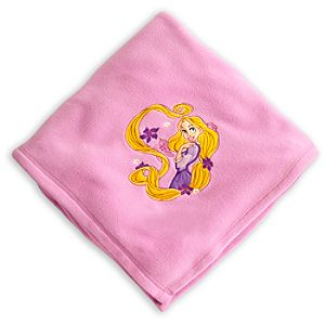 Rapunzel Fleece Throw - Personalizable