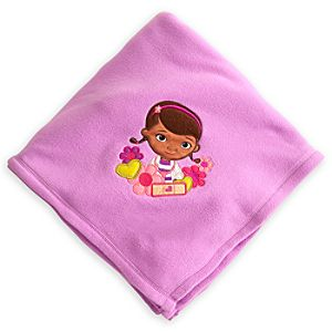 Doc McStuffins Fleece Throw - Personalizable