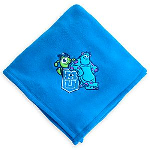 Monsters University Fleece Throw