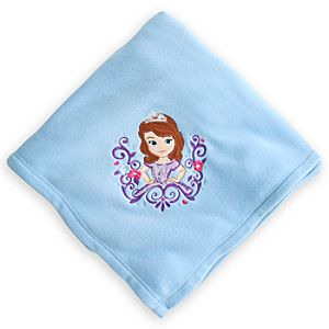 Sofia the First Fleece Throw - Personalizable
