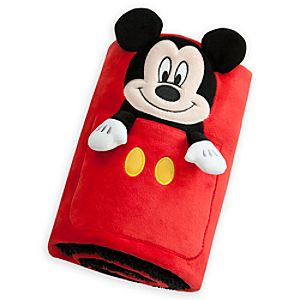 Mickey Mouse Character Blanket - Personalizable