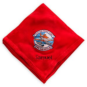 Planes: Fire & Rescue Throw Blanket - Personalizable