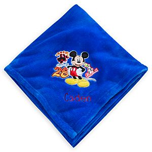 Mickey Mouse Throw Blanket - Personalizable