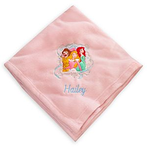 Disney Princess Throw Blanket - Personalizable
