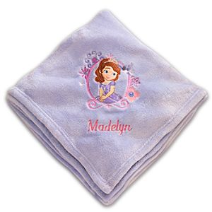 Sofia Throw Blanket - Personalizable