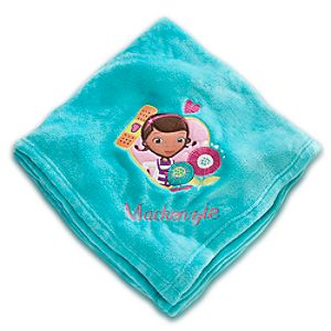 Doc McStuffins Throw Blanket - Personalizable