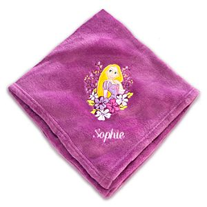 Rapunzel Throw Blanket - Personalizable