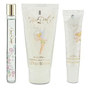 Pixie Dust Disney Store Eau De Toilette, Body Glitter, and Lip Gloss Boxed Set -- 3-Pc.