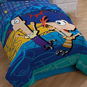 Twin/Full Phineas and Ferb Comforter