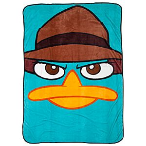 Phineas and Ferb Perry Plush Blanket