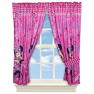 Minnie Mouse Curtain Set