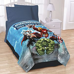Avengers Assemble Fleece Throw