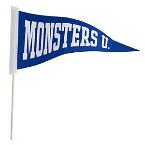 Monsters University Pennant