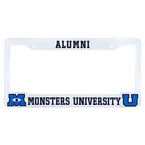 Monsters University License Plate Frame