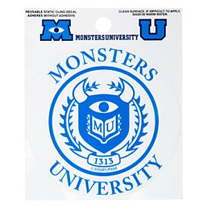 Monsters University Window Cling Decal