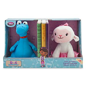 Stuffy and Lambie Figural Bookends - Doc McStuffins