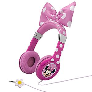 Minnie Mouse Headphones - Pink