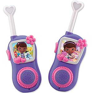 Doc McStuffins Walkie Talkie Set
