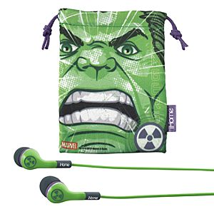 Hulk Noise Isolating Ear Buds with Pouch