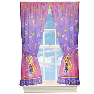 Rapunzel Curtain Set
