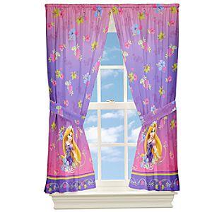 Rapunzel Curtain Set