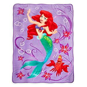 Ariel Plush Blanket