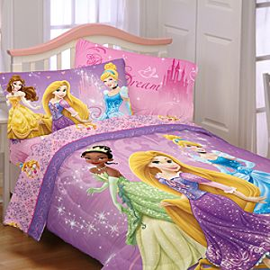 Disney Princess Reversible Comforter - Twin/Full