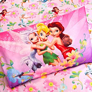Disney Fairies Sheet Set - Twin