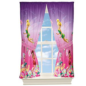 Disney Fairies Curtain Set