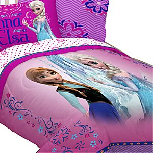 Anna and Elsa Comforter - Frozen - Twin/Full