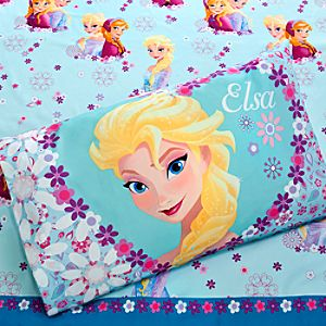 Anna and Elsa Sheet Set - Twin