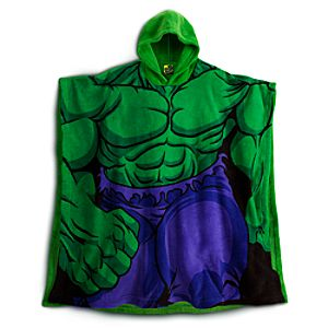 Hulk Poncho for Boys