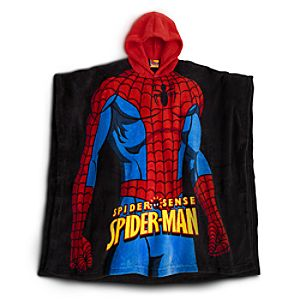 Spider-Man Poncho for Boys