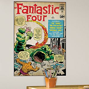 The Fantastic Four Wall Graphic