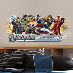 Personalized The Avengers Wall Graphic