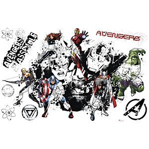 Avengers Wall Graphic