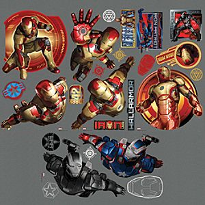 Iron Man 3 Wall Graphic Set 2