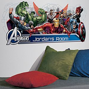 Avengers Wall Graphic Set