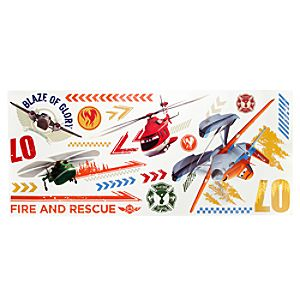 Planes: Fire & Rescue Wall Decals