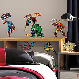 Marvel Classics Wall Decals