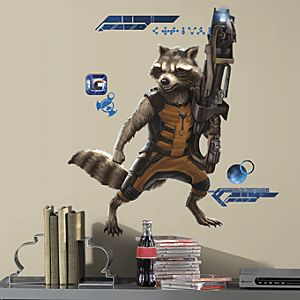 Rocket Raccoon Wall Decals - Marvels Guardians of the Galaxy