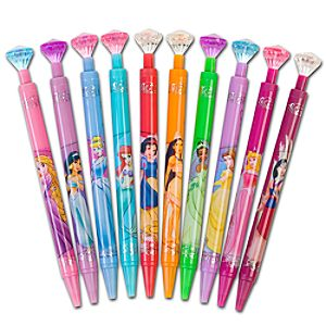 Gem Disney Princess Pen Set -- 10-Pc.