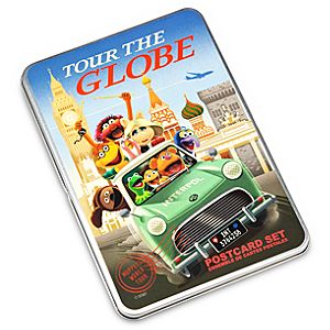 Muppets Tour the Globe Postcard Set