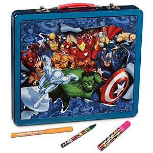 Tin Case Marvel Universe Art Set
