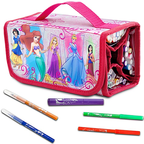 Disney Princess Marker Roll Art Set
