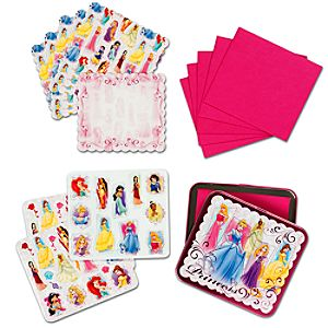 Disney Princess Sticker and Notecard Set