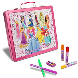 Tin Disney Princess Art Case