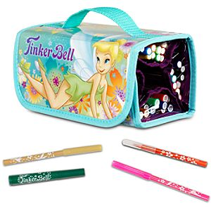 Tinker Bell Marker Roll Art Set