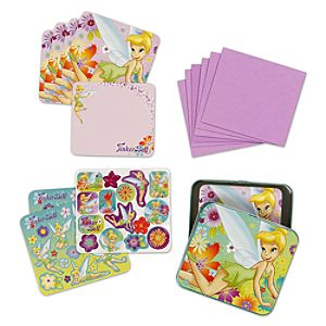 Tinker Bell Sticker and Notecard Set