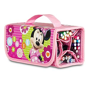 Minnie Mouse Marker Roll Art Set